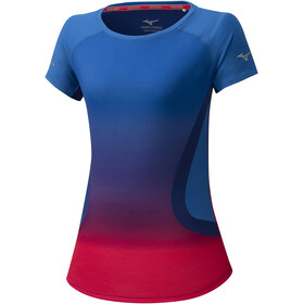 Mizuno Aero Tee Women princess blue